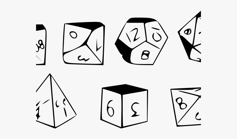 image freeuse library Dungeons amp dragons d. D20 clipart rpg dice