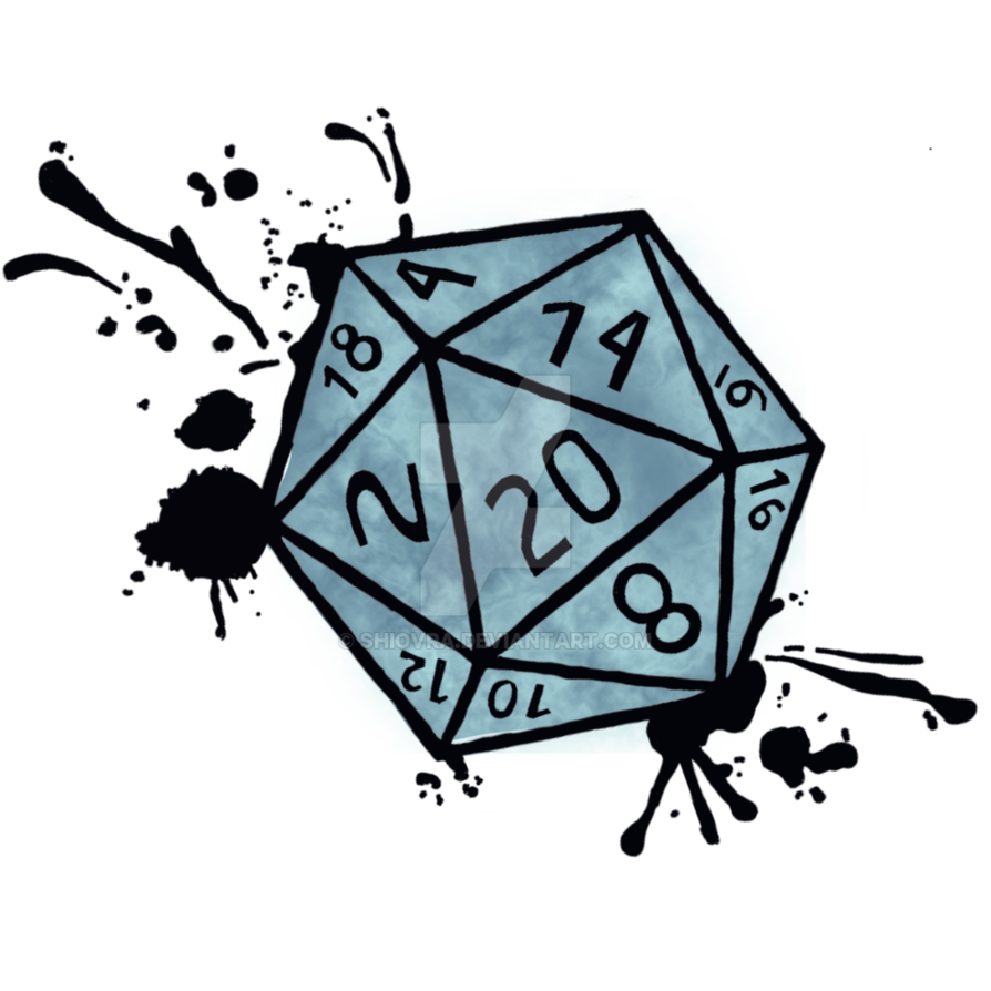 svg black and white stock D splatter version by. D20 clipart rpg dice