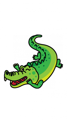 banner free How to Draw a Crocodile