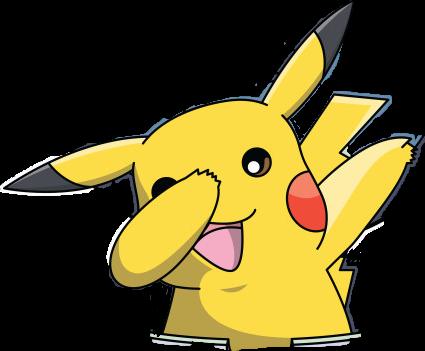 clipart free download dabbing dabbers dabboi pikachu pika FreeToEdit