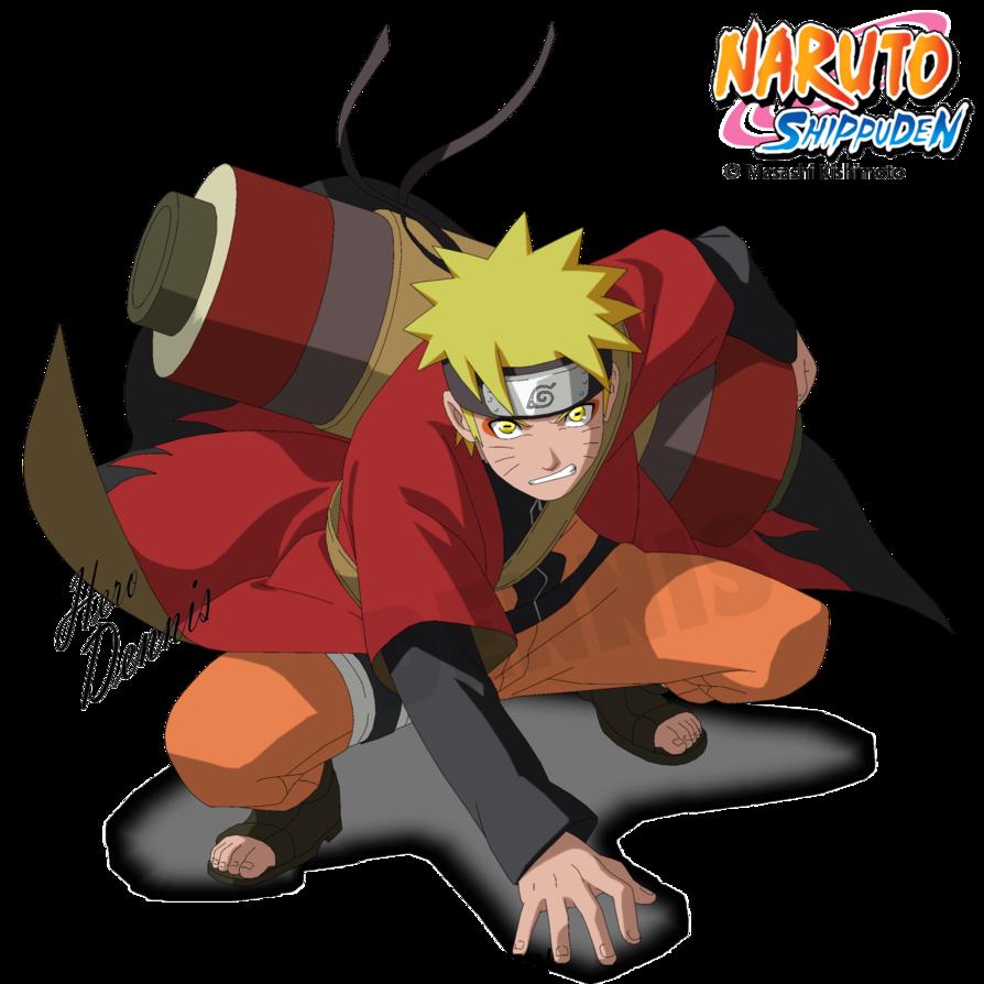banner transparent download Naruto Sage Mode by DennisStelly