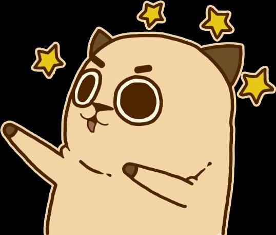 clip royalty free stock cat dabbing dab drawing