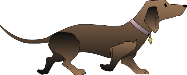 svg black and white library At getdrawings com free. Dachshund clipart