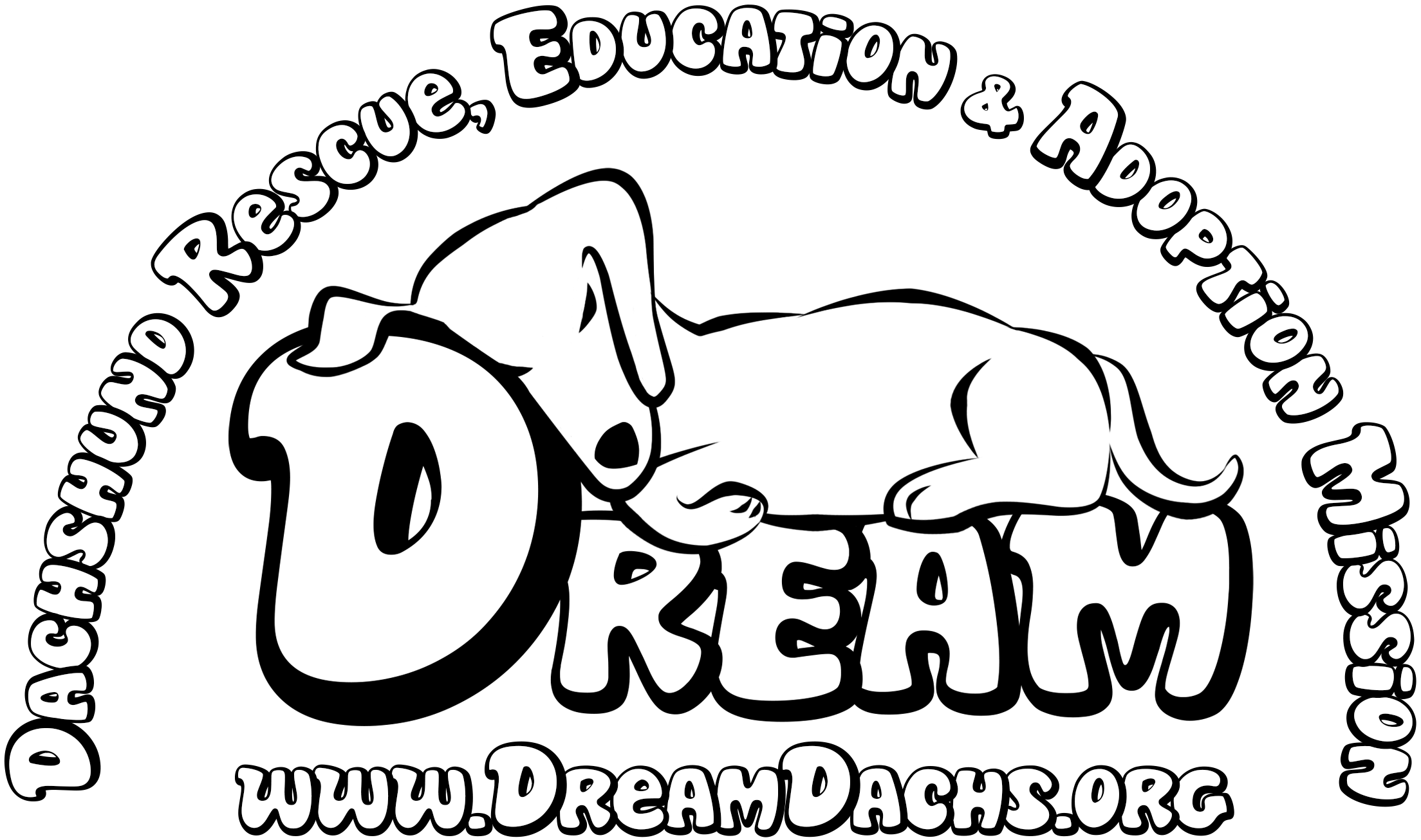 banner freeuse download Dachshund Line Drawing at GetDrawings