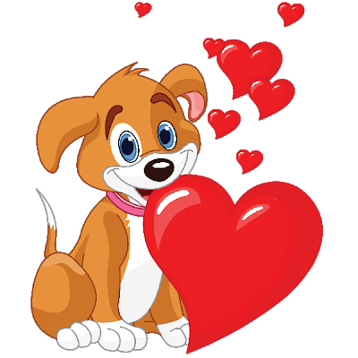 png freeuse library Puppy Love