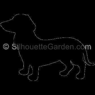 clip art transparent library Wiener dog silhouette clip art