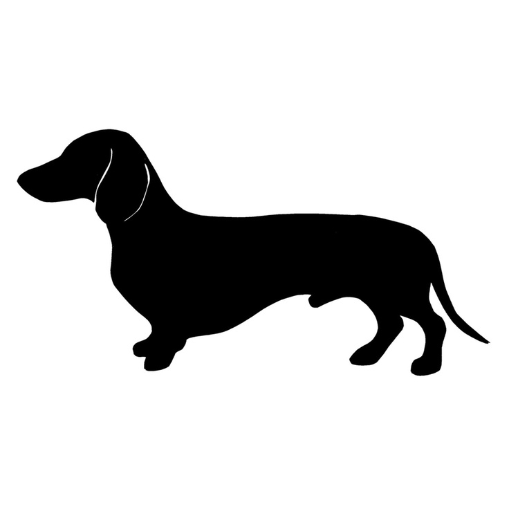 picture freeuse Free Dachshund Dog Silhouette