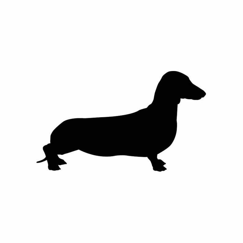 royalty free download Dachshund dog puppy vector