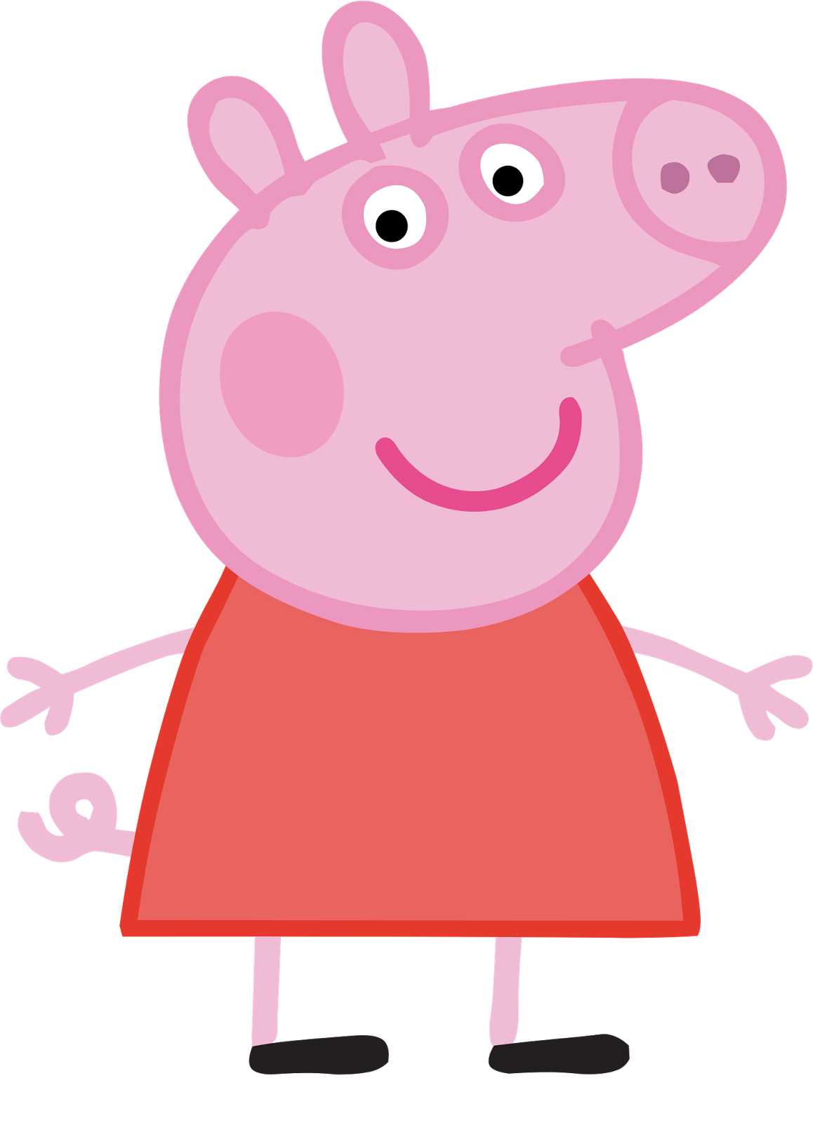 vector stock Peppa clipart mummy pig. Cartoon characters png hq