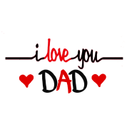 clip download I love you Dad Shirts for Father