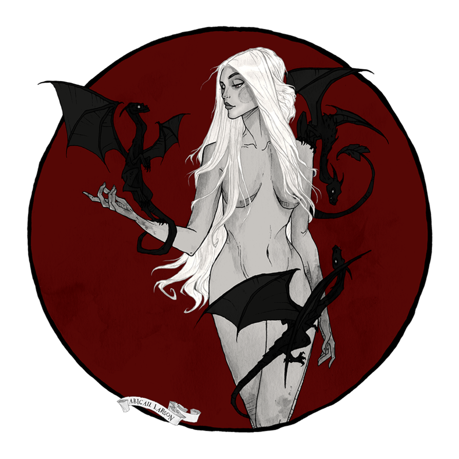 clip art royalty free stock Mother of Dragons by AbigailLarson on DeviantArt