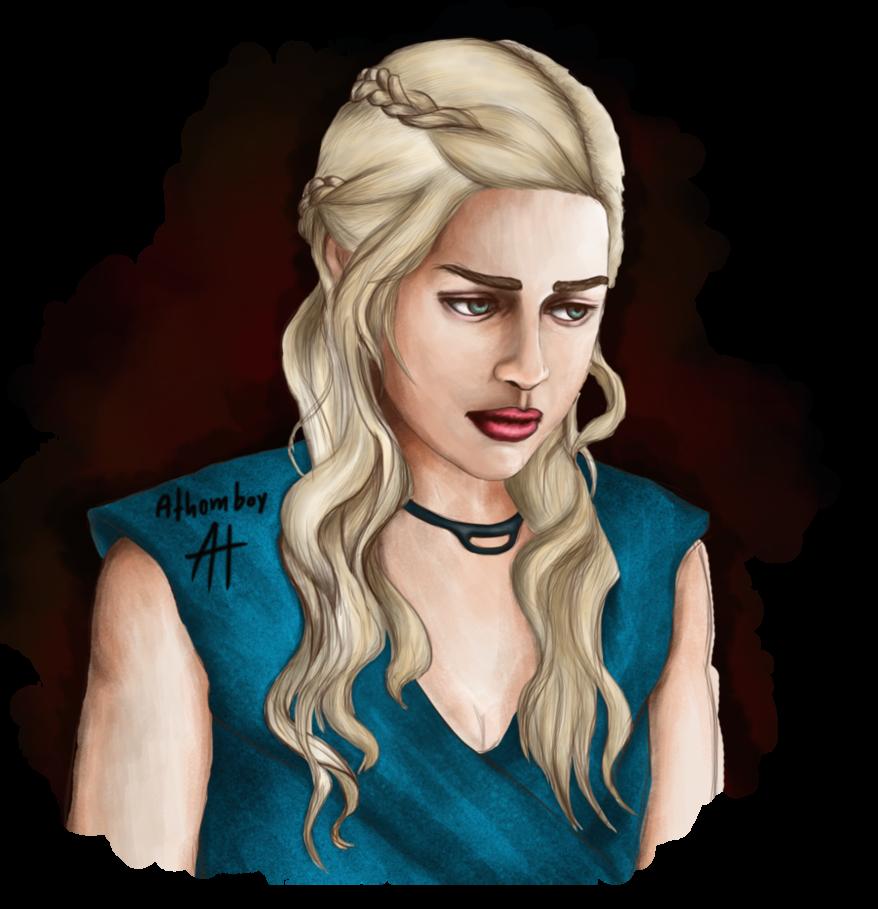 png transparent stock Daenerys Targaryen by AthomBoy by AthomBoy on DeviantArt