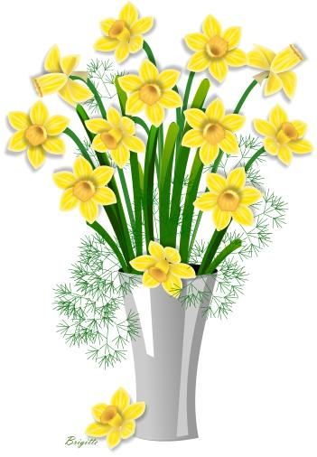 picture transparent Free images download clip. Daffodil clipart daffodil bouquet