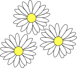 svg free download Daisy clipart. Daisies frames illustrations hd