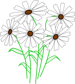 black and white download Daisy free collection download. Daisies clipart rustic