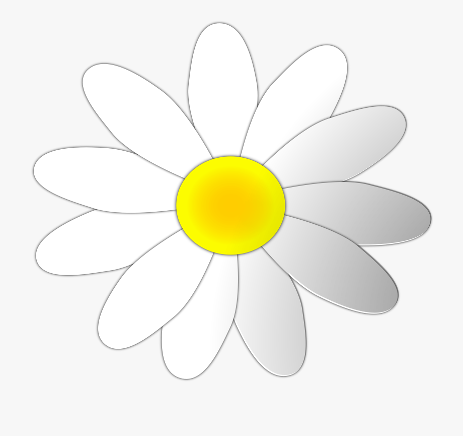banner royalty free download Flower free cliparts on. Daisy clipart