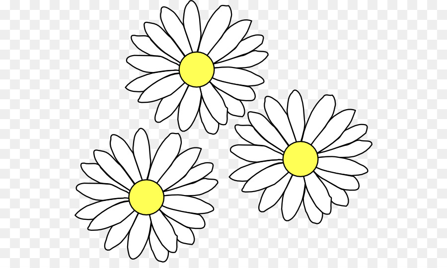 svg library stock Daisy clipart. Black and white flower