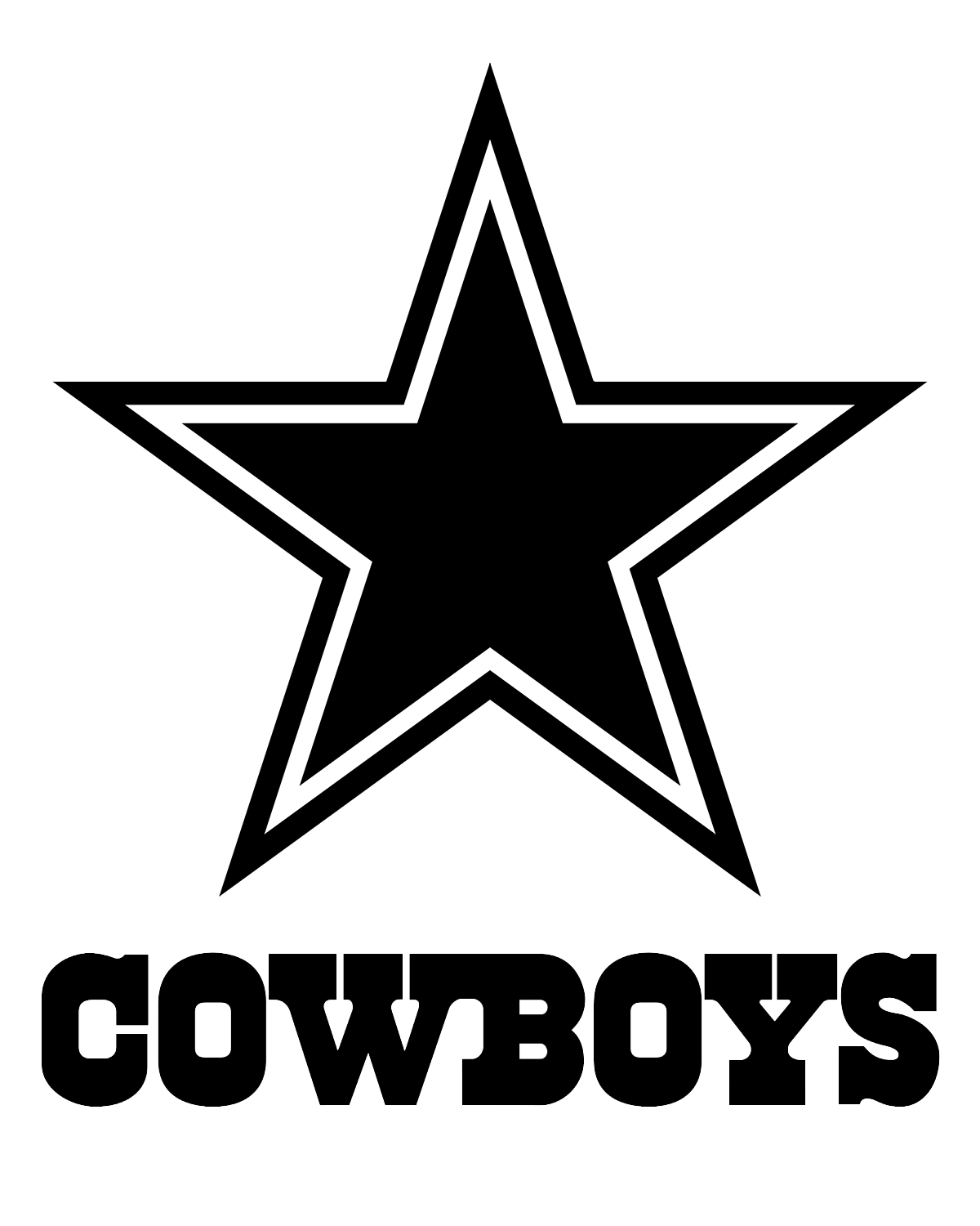 png freeuse download Symbol tattoo star images. Dallas cowboys clipart