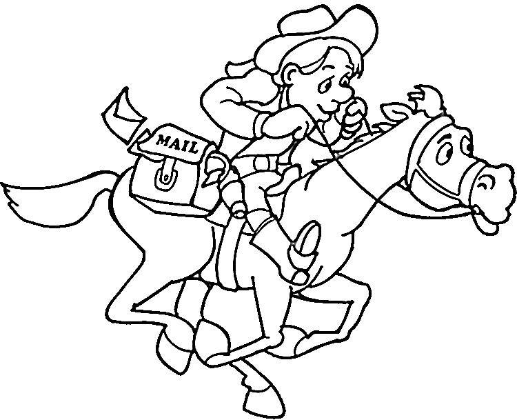 vector Cowboys Drawing at GetDrawings