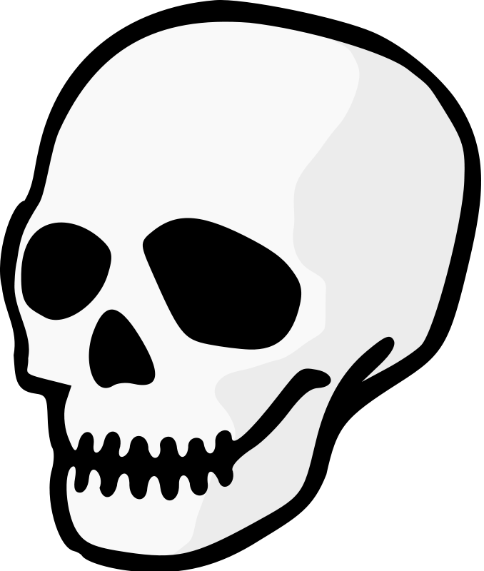jpg library download Skull Clipart animated