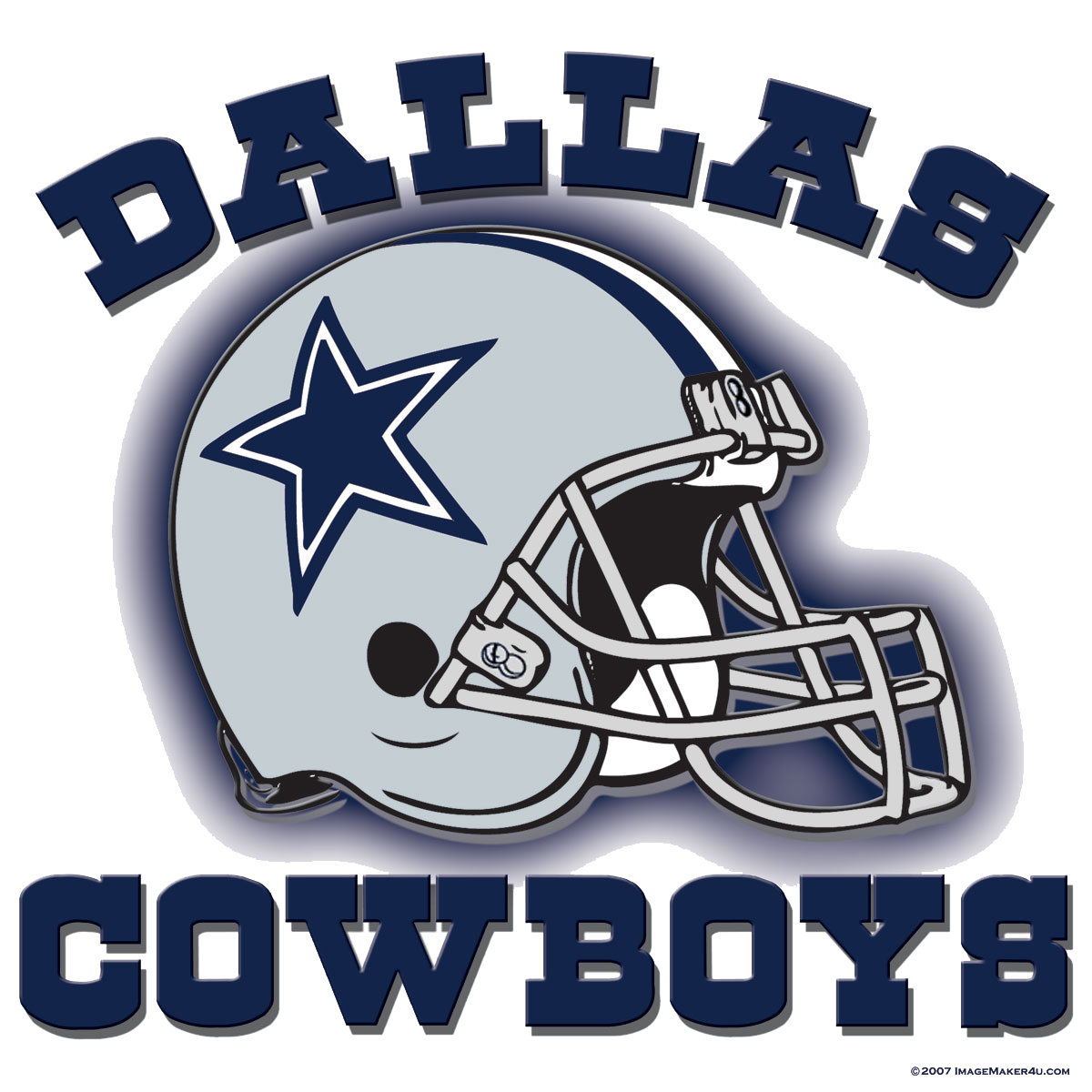 free  collection of free. Dallas cowboys clipart word