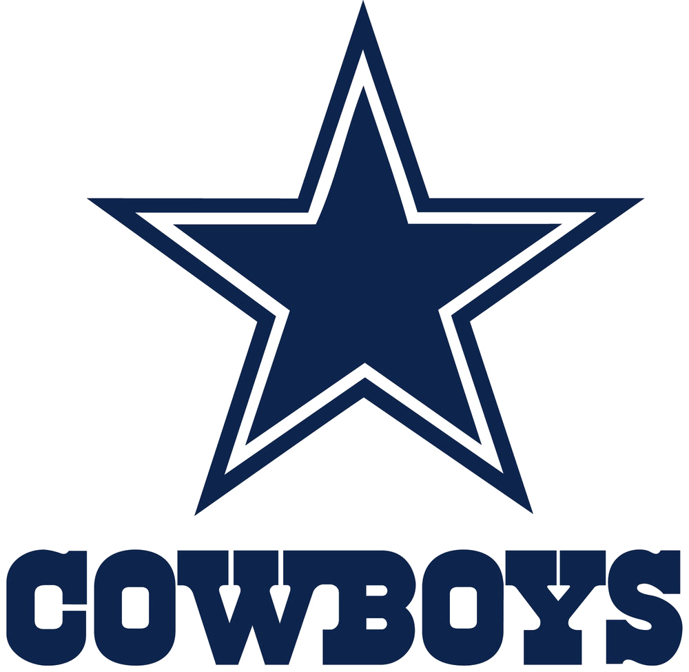 transparent Dallas cowboys clipart word. Images group the club