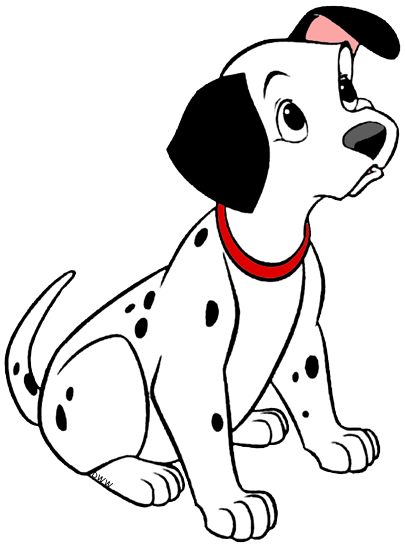vector freeuse Dalmatian clipart.  dalmatians puppies clip
