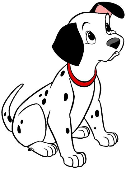 vector freeuse Dalmatian clipart.  dalmatians puppies clip.