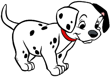 graphic stock  dalmatians puppies clip. Dalmatian clipart