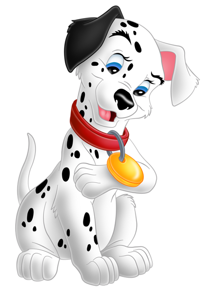 svg royalty free stock Thunderbolt clipart dog disney. Cute lucky dalmatians png