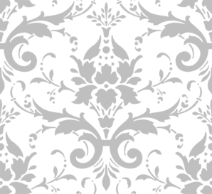 png free download Grey Damask Clip Art at Clker