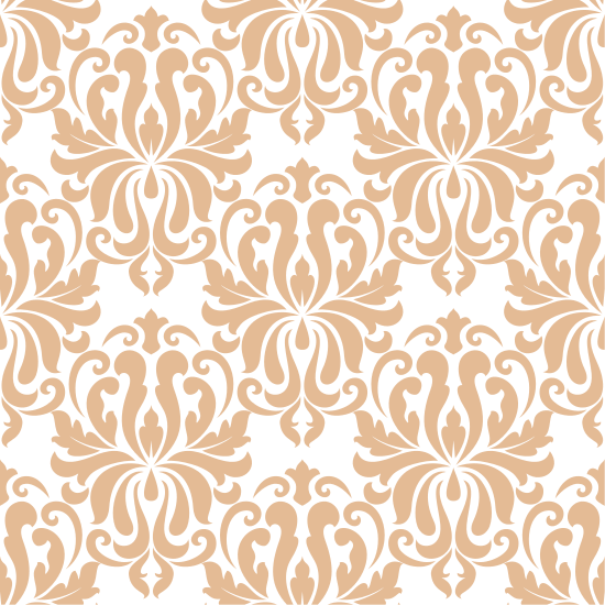 vector royalty free library Ornate Arabesque Repeat Pattern on Red