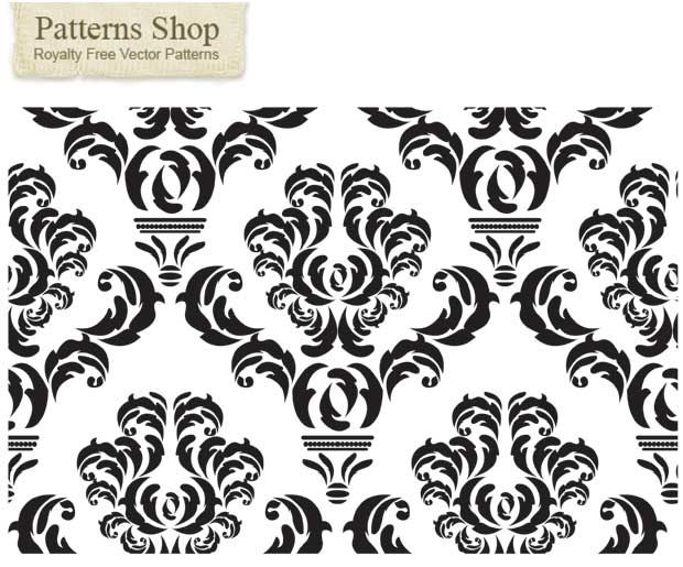 png royalty free stock damask vector printable #133507603