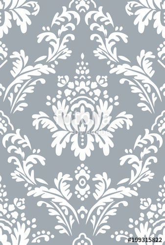 clipart free download Vector beautiful damask pattern