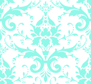 banner black and white stock Aqua Damask Pattern