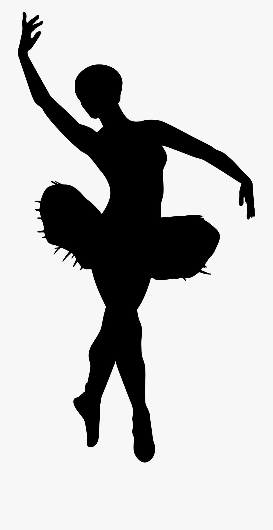 clip art transparent library Transparent ballet dancers silhouette. Dancer clipart.
