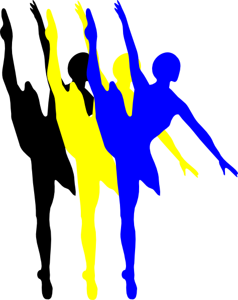 clip library library Dancer Clipart drill team