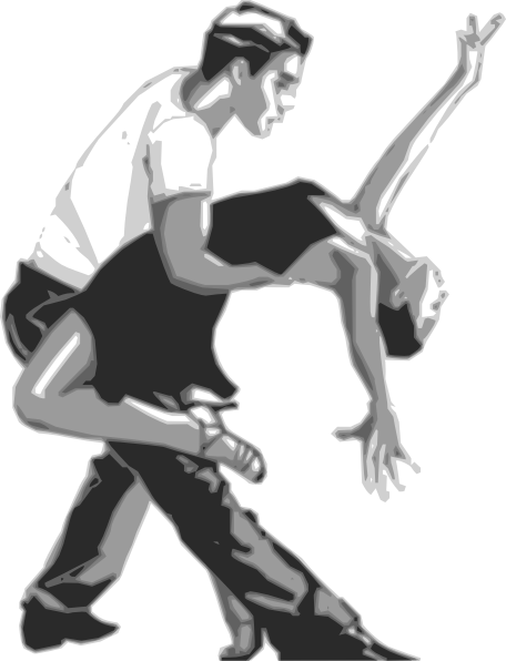 image black and white stock Dancer clipart black and white. Latin dance clip art