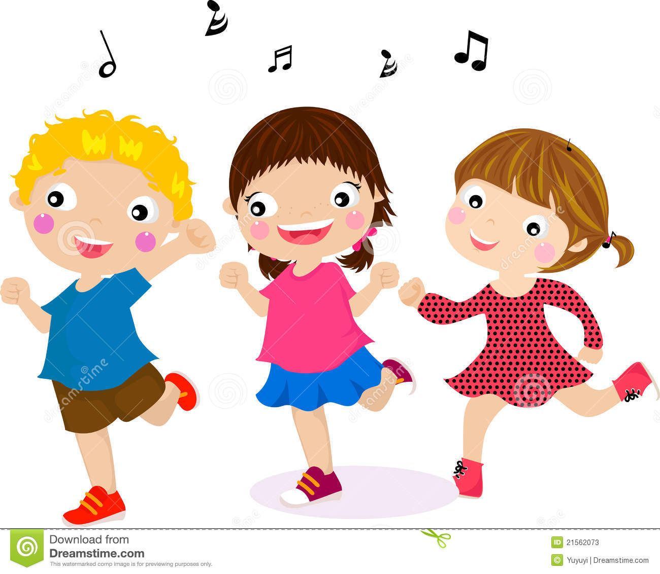 picture royalty free Pics for children singing. Dancing clipart.