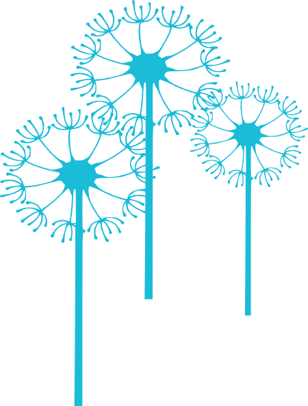 jpg black and white library Dandelion clipart. Clip art at clker.