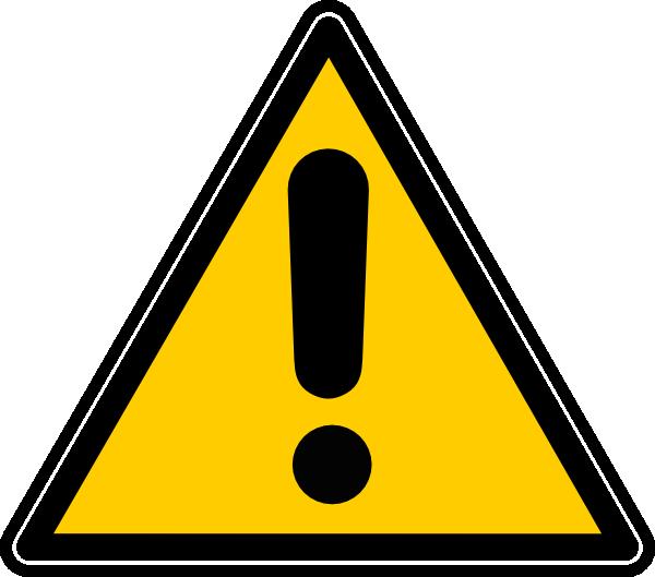 svg free download Danger clipart. Clip art at clker.