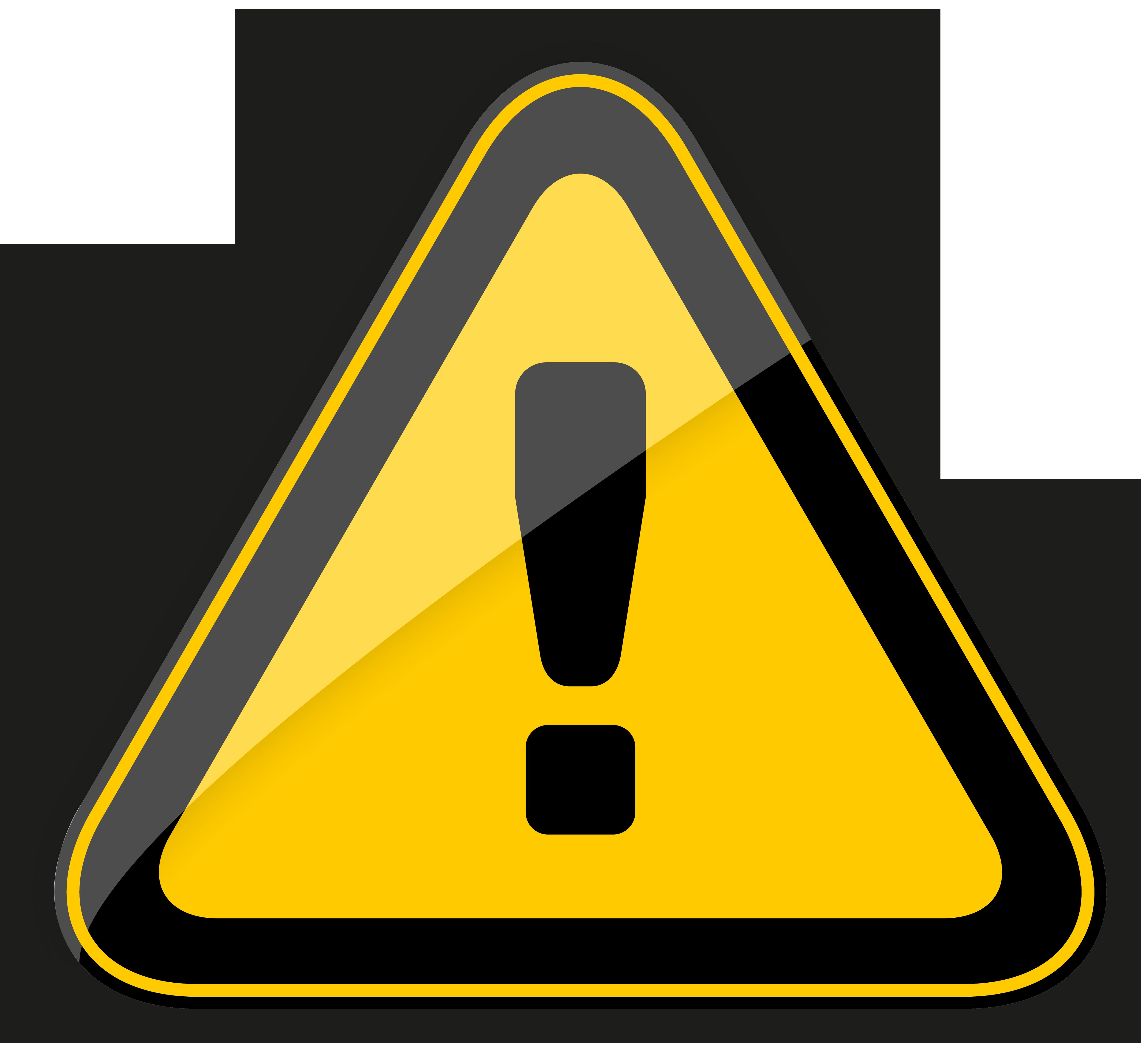 png transparent stock Warning sign png best. Danger clipart.