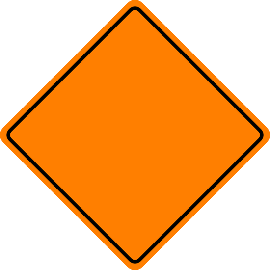 banner freeuse stock Danger clipart road work sign. Caution kids hard at.