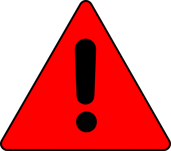 picture royalty free Warning Triangle Clip Art at Clker