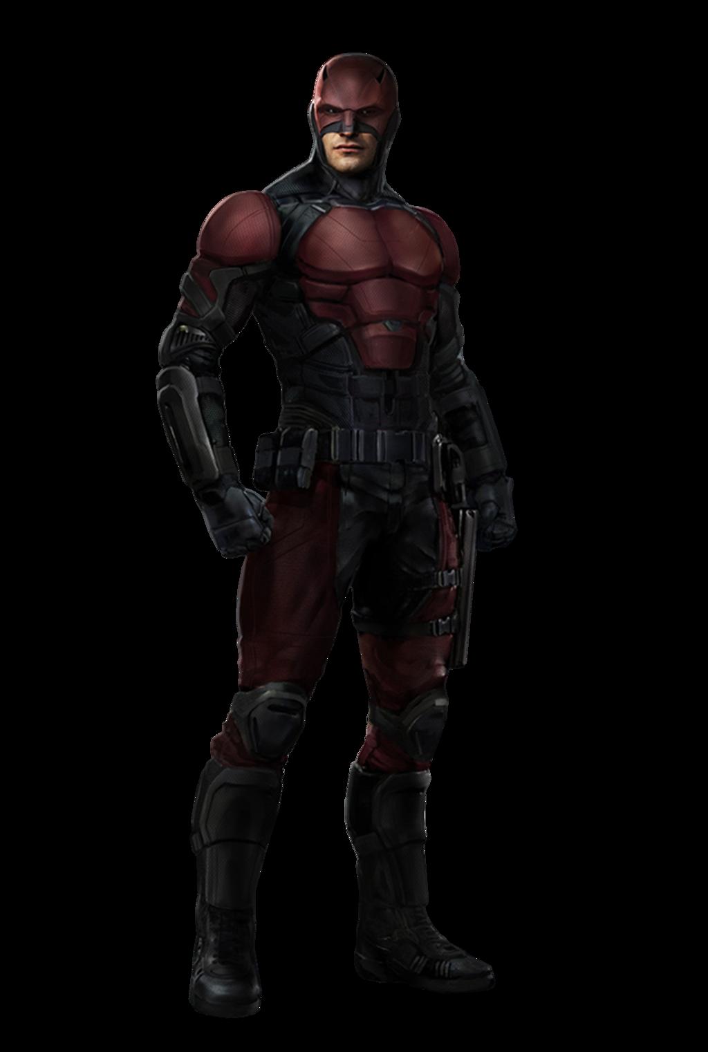 clip black and white Daredevil Concept