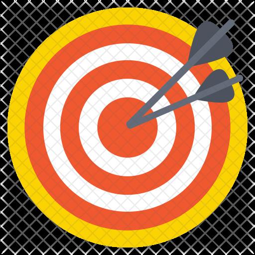 clip art transparent library Target Achievement Icon