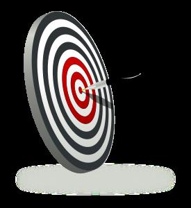 jpg black and white download dart clipart precision #32174369