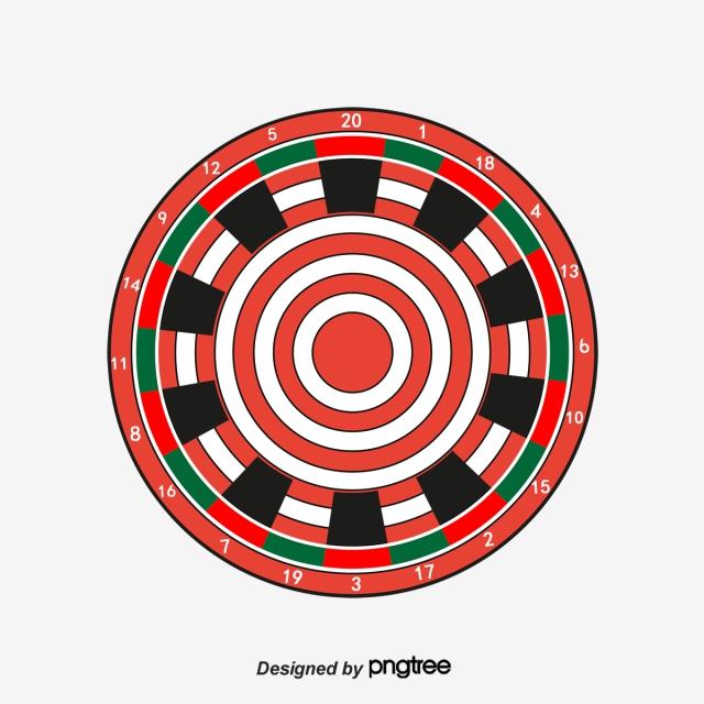 svg freeuse download Dart board png images. Dartboard vector