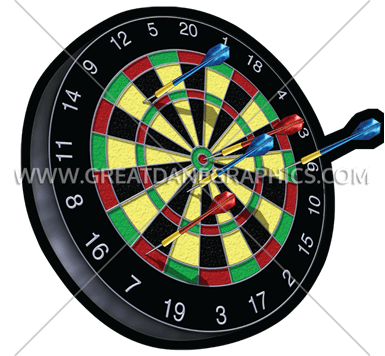 graphic black and white download Dart board production ready. Dartboard vector