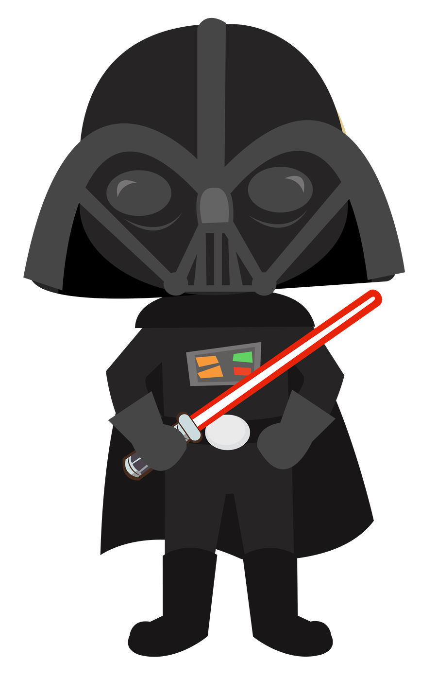 picture free stock Star wars minus felt. Darth vader clipart